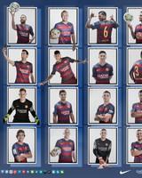 Barcelona Squad 2015-2016