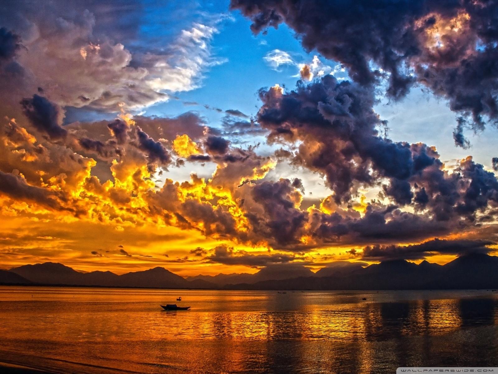 Free Vietnam Sunset phone wallpaper by johndale