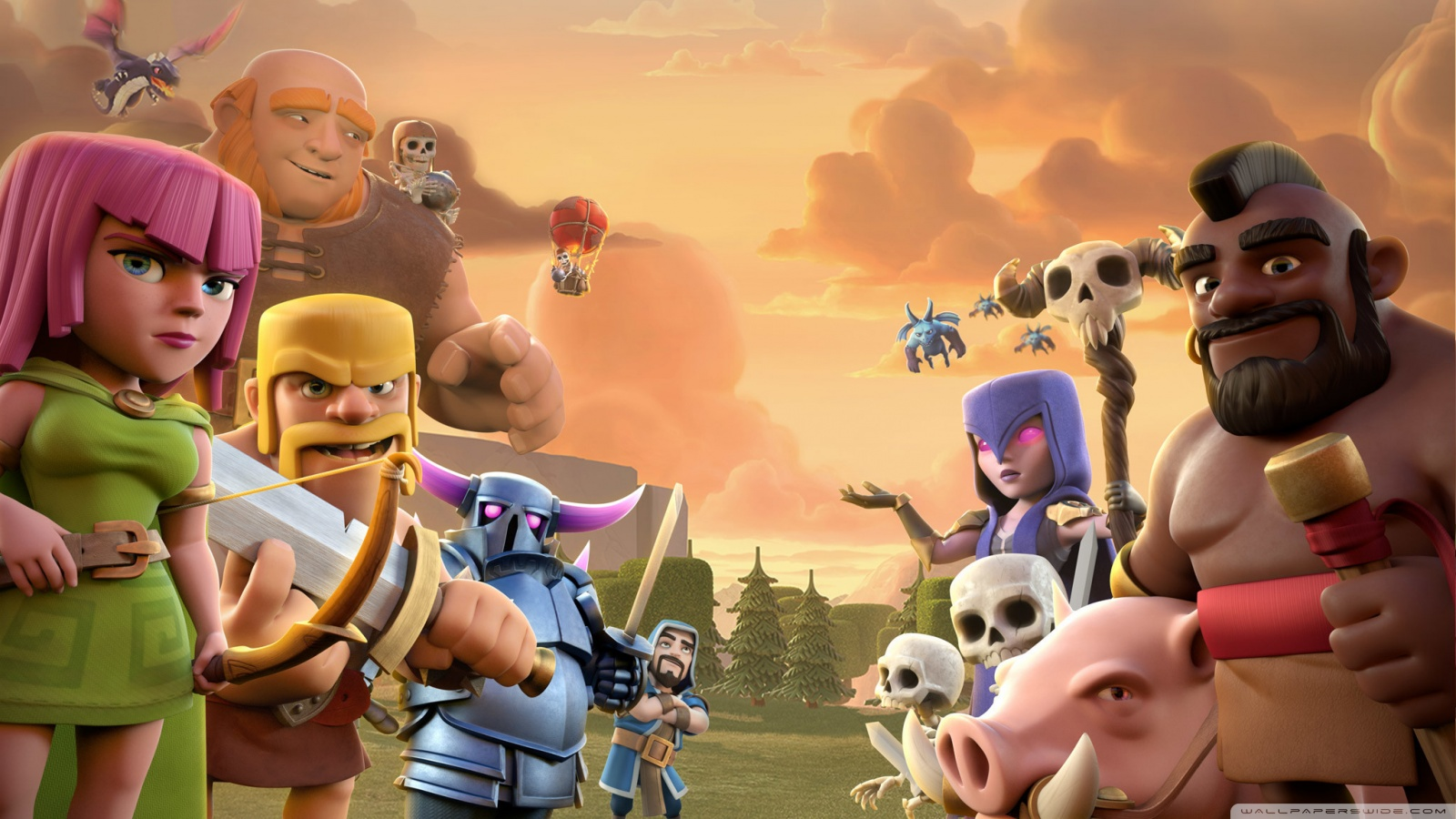 Free Clash Of Clans phone wallpaper by kittykat3658