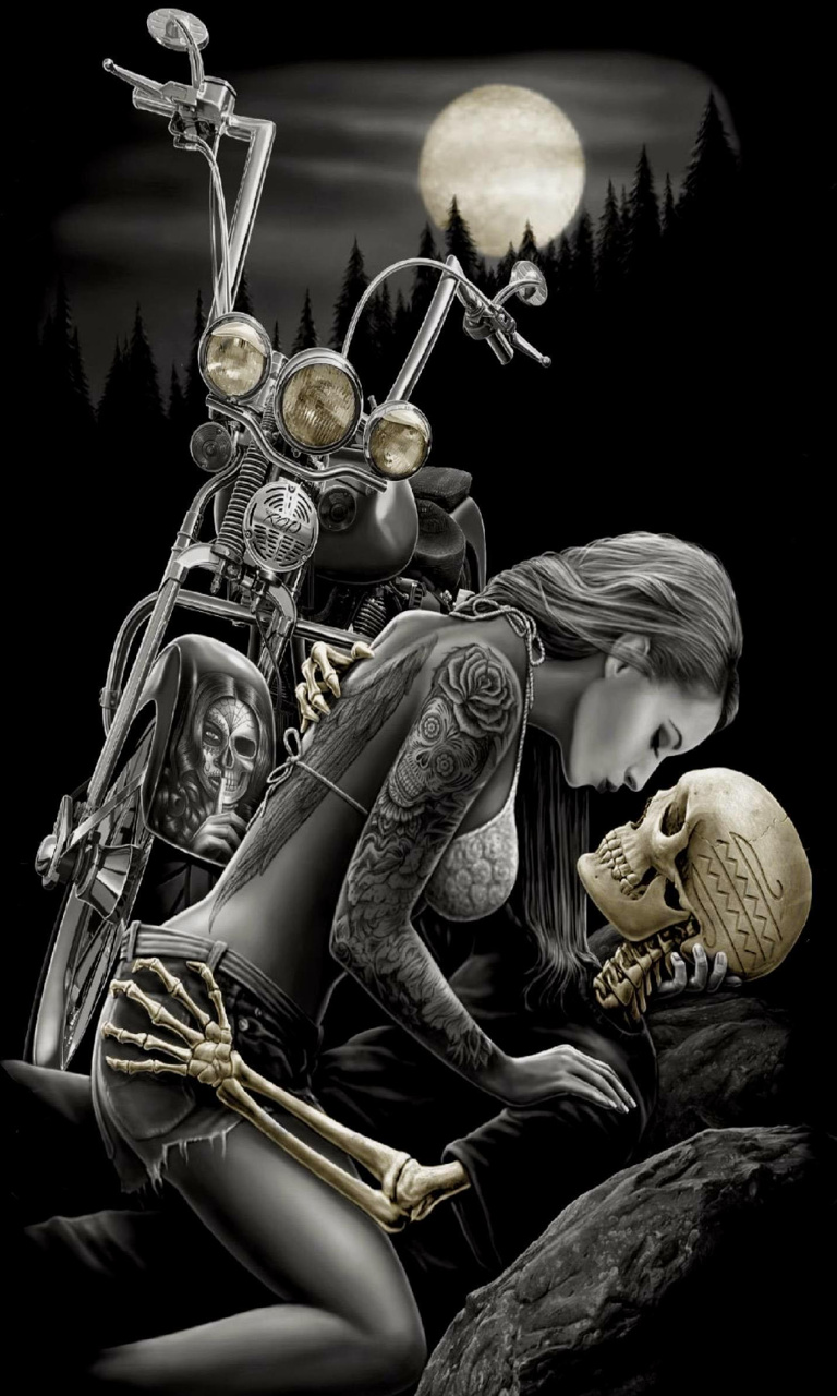Free bike_skeleton_art-wallpaper-10750510(1).jpg phone wallpaper by twifranny