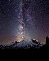 MILKYWAY BEHIND MOUNTAINS
