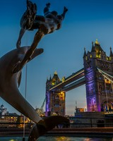Tower Bridge Dolphin Statue