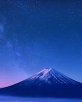 Landscape Mountain Milky Way