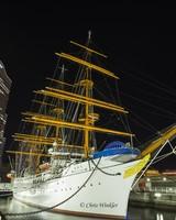Nippon Maru, a Japanese museum ship, Yokohama