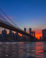 New York City, Brooklyn Bridge View