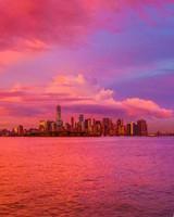 New York City Pink Sunset