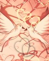 Birds Love Hearts