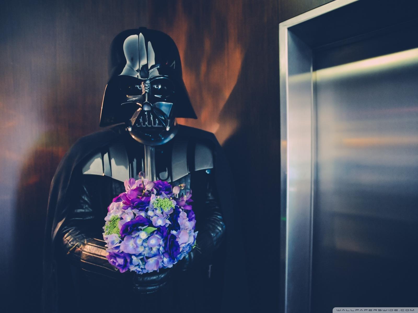 Free Darth Vader Wedding phone wallpaper by jerzeyfranchize