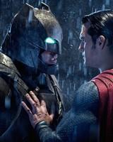 Batman Superman Face Off