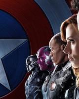 Captain America Civil War Iron Man Team