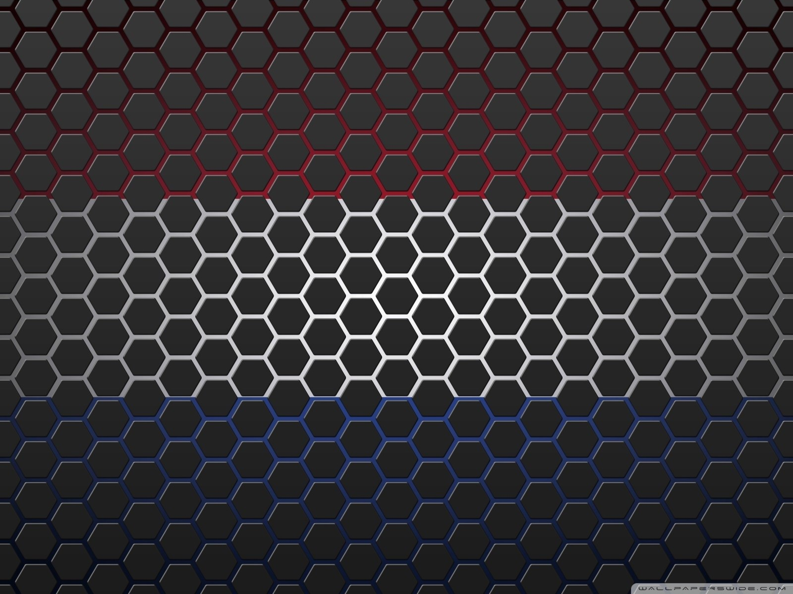 Free Netherlands Flag with Hexagons phone wallpaper by babytaz93