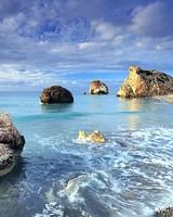 Cyprus Rock Sea Shores