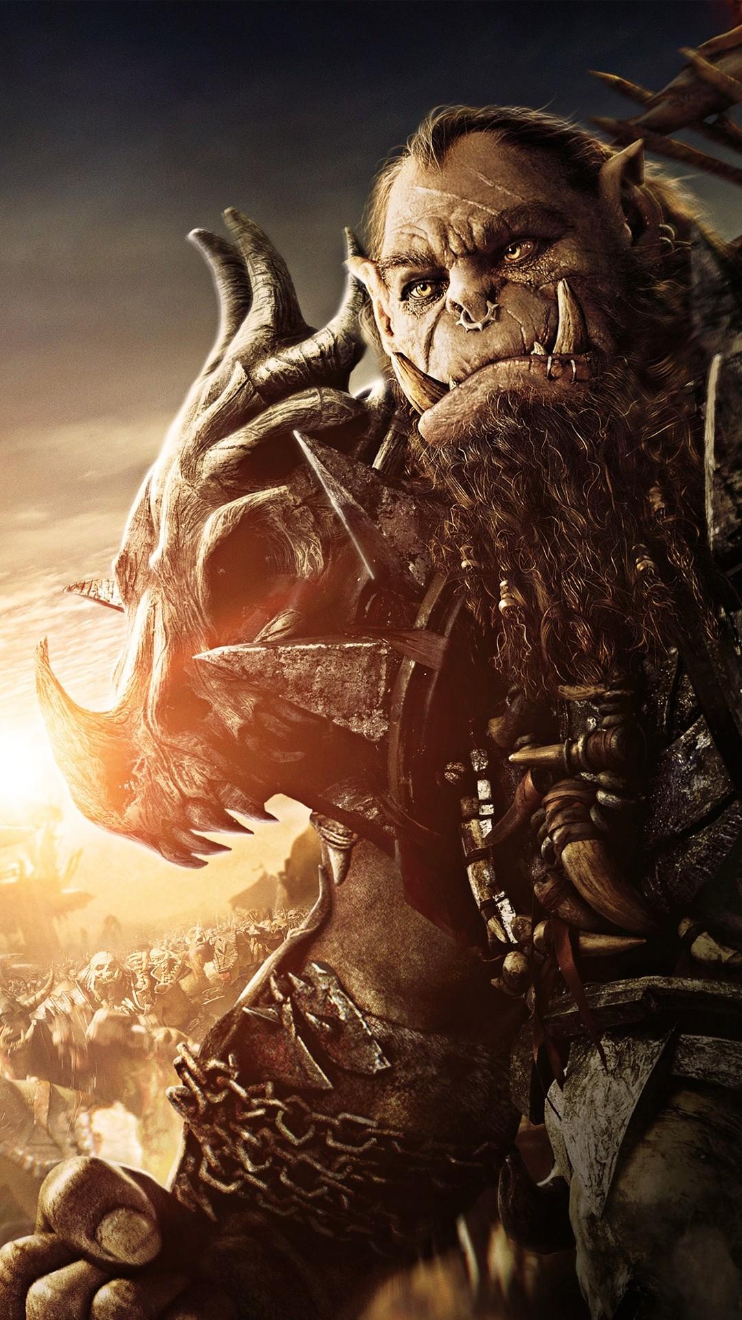 Free Blackhand Warcraft Movie phone wallpaper by savannawl