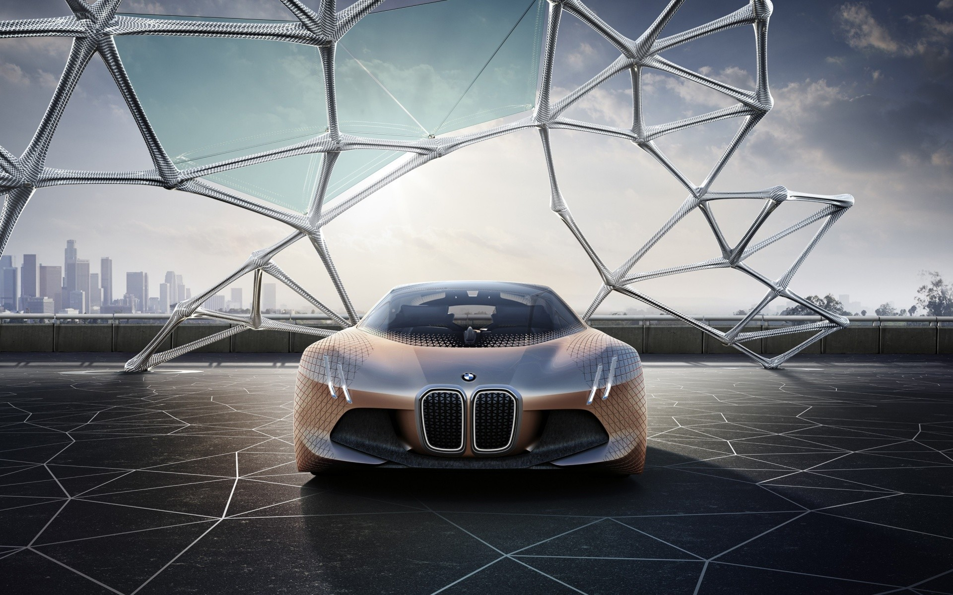 Free BMW Vision Next 100 Concept phone wallpaper by asimm09