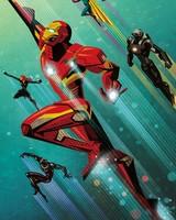 Civil War Artowork Iron Man