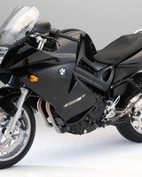 Black BMW F800ST