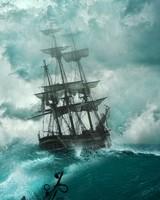 Sailing Ship Storm