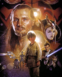 STAR WARS: The Phantom Menace, Movie Poster