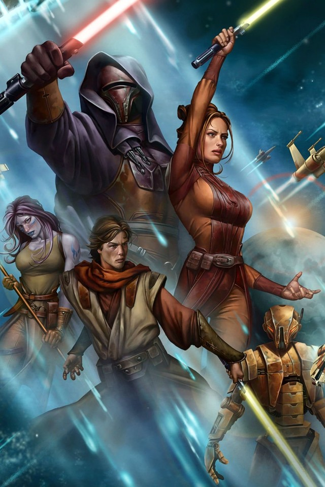 Free STAR WARS: Knights of the Old Republic phone wallpaper by mycinematonesdepo