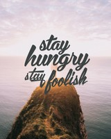 Stay Hungry Stay Foolish wallpaper 1