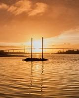Sunrise, Clyde River, Scotland