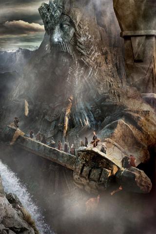 Free The Hobbit Desolation of Smaug-Erebor phone wallpaper by mycinematonesdepo