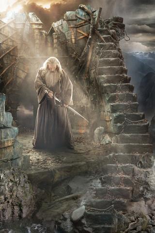 Free The Hobbit Desolation of Smaug-Gandalf phone wallpaper by mycinematonesdepo