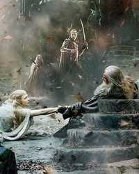 the Hobbit: Battle of the Five Armies - Rescue of the White Council