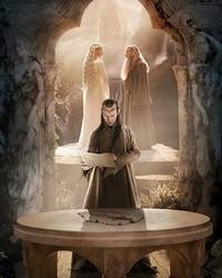 The Hobbit: An Unexpected Journey- Elven Wisdom wallpaper 1