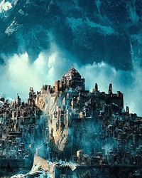 The Hobbit Desolation of Smaug - City of Dale Ruins, The