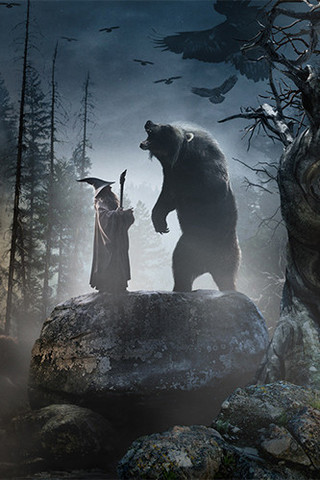 Free The Hobbit: An Unexpected Journey - Beorn phone wallpaper by epictones