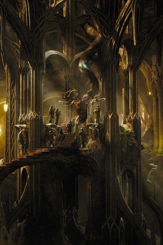 Free The Hobbit Desolation of Smaug - Thranduils Woodland Realm phone wallpaper by epictones