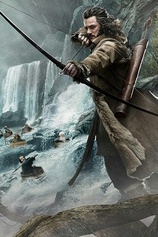 Free The Hobbit Desolation of Smaug - Bard phone wallpaper by epictones