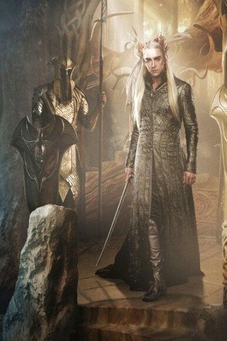 Free The Hobbit: Desolation of Smaug - Thranduil phone wallpaper by epictones