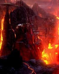 STAR WARS: Revenge of the Sith - Mustafar, Klegger Corp. Mining Facility