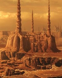 STAR WARS: Attack of the Clones - Geonosis, Spires