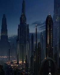 STAR WARS: Attack of the Clones - Coruscant Cityscape