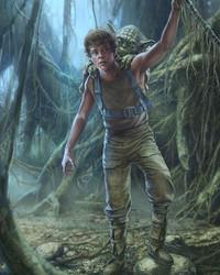 STAR WARS: The Training of Luke Skywalker on Degobah