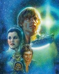 STAR WARS: Hugh Fleming - cover art STAR WARS #20
