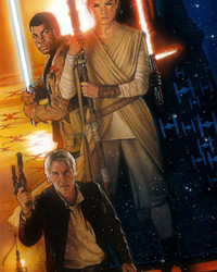 STAR WARS: Drew Struzan - The Force Awakens, Poster