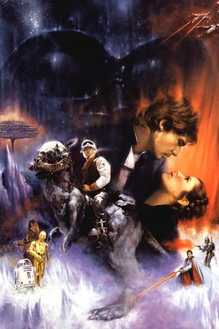 Free STAR WARS: The Empire Strikes Back - Roger Kastel phone wallpaper by epictones