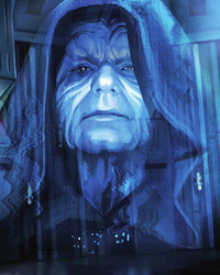 Emperor Palpatine Hologram
