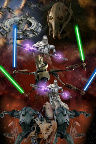 Free STAR WARS: General Grievous/ Seperatist Droid Army phone wallpaper by epictones