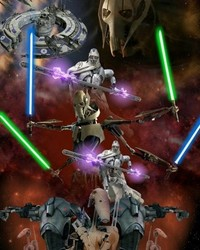 STAR WARS: General Grievous/ Seperatist Droid Army