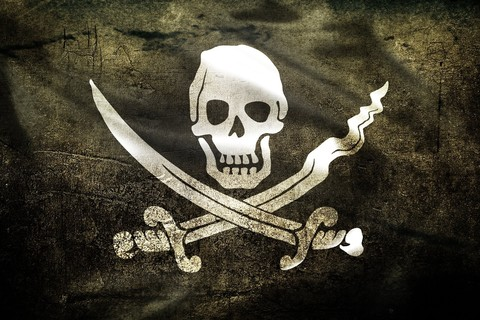 Free Jolly Roger - Black phone wallpaper by epictones