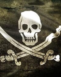 Jolly Roger - Black wallpaper 1
