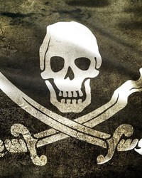 Jolly Roger - Black - iphone