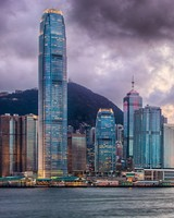 Victoria Harbour, Hong Kong HDR