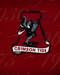 Crimson Tide A Elephant - UofA