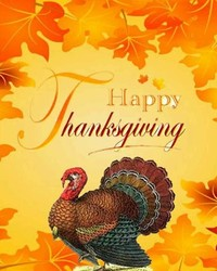 Happy Thanksgiving - Turkey